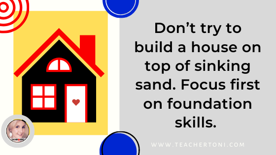 foundational skills teaching