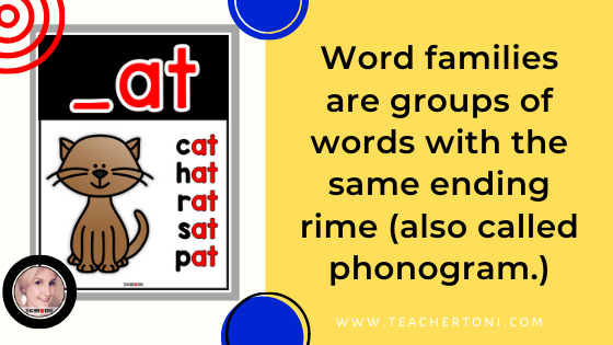what are word families