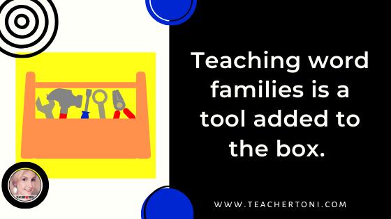 word family, word families, primary, classroom, teacher, teach, literacy, literacy strategies, Teacher Toni, free word family posters