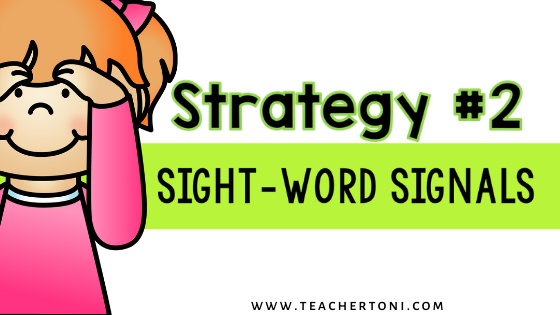 how to teach sight words activities strategies sight word motions signals for kindergarten first second grade