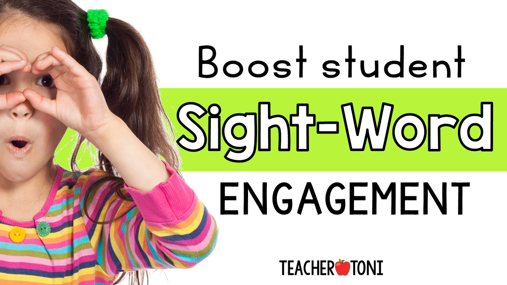 boost student sight word engagement sight word activities strategies