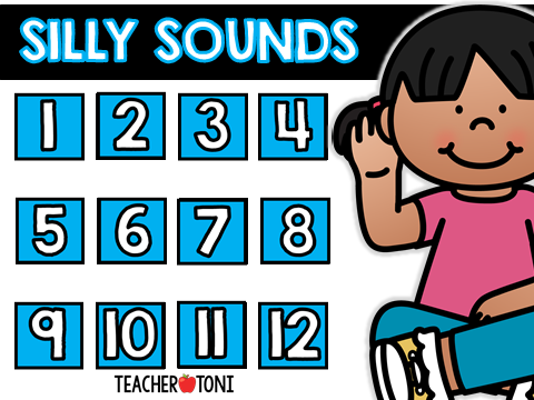 silly sounds library free virtual classroom rewards distant learning incentives engagement Kindergarten First Grade Second Grade