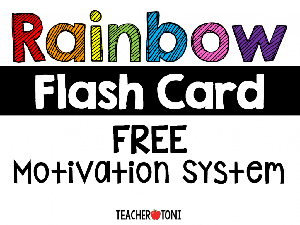 how to use flashcards kids kindergarten first second grade flashcard games sight words math facts motivation system rewards games free rainbow words