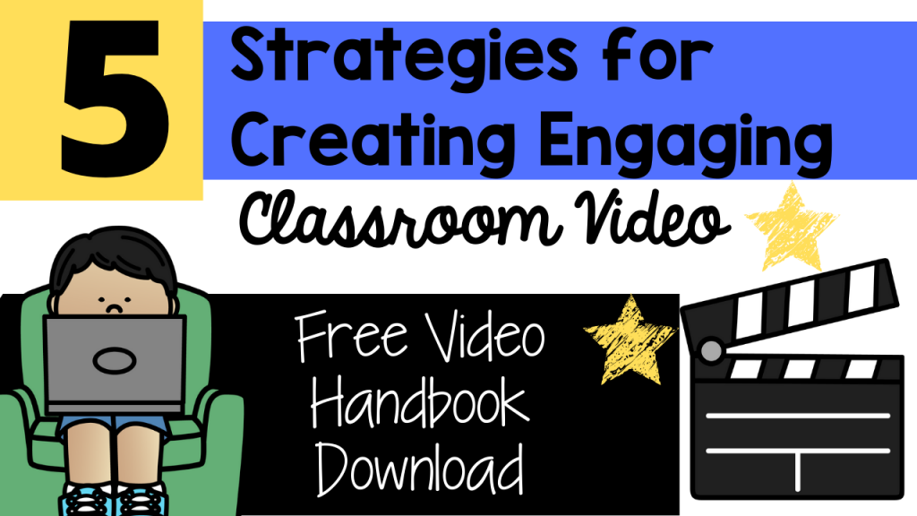 creating engaging classroom video strategies toni mullins school classroom primary education pre-k pre-kindergarten kindergarten first grade second grade teacher toni activities for kids classroom motivation rewards movement visuals virtual learning distant learning distance learning