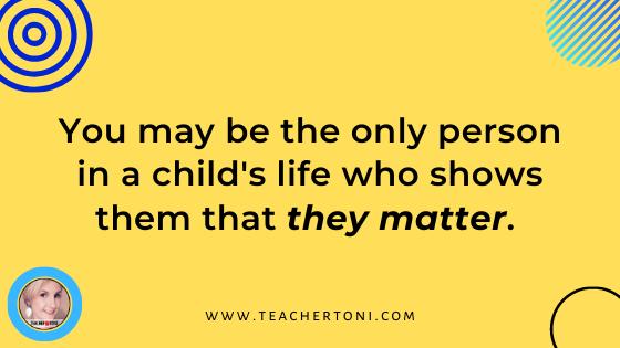 quote children teacher importance of children matter