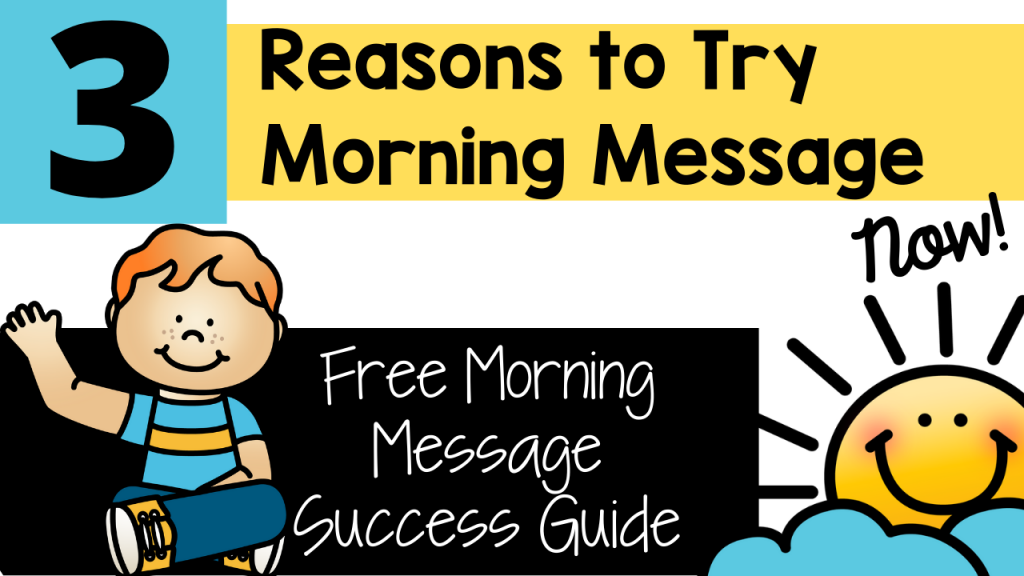 morning message, classroom, engagement, routine, differentiation, primary, teacher, pre-k, pre-kindergarten, kindergarten, first grade, second grade, Teacher Toni