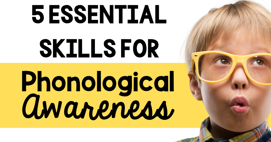 phonological awareness skills spoken word rhyme syllable phoneme manipulation primary education classroom teacher literacy kindergarten pre-k prekindergarten preschool first grade second grace