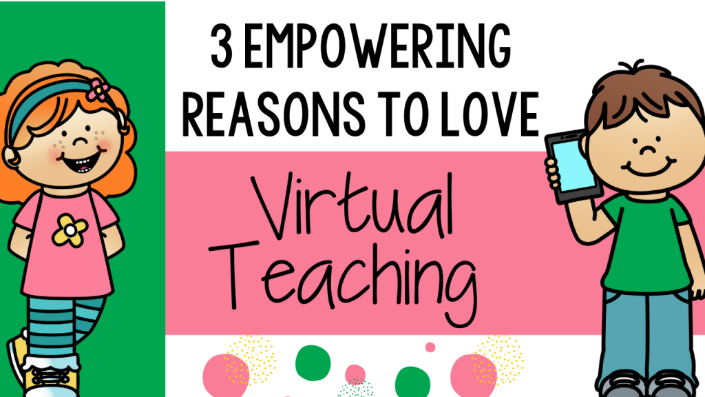 virtual teaching strategy distance education distance learning virtual learning primary preschool pre-k kindergarten first grade second grade Teacher Toni teacher classroom inspiration encouragement love virtual teaching