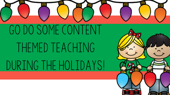 holidays, theme, Christmas, primary, classroom, class, teach, teaching, engagement, activities, content, how to teach during the holidays, pre-k, pre-kindergarten, kindergarten, first grade, second grade, Teacher Toni